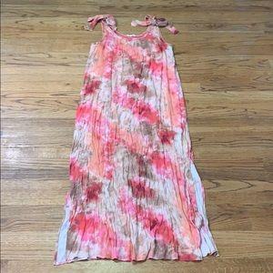 Entro Tie- Dye Boho Maxi Dress